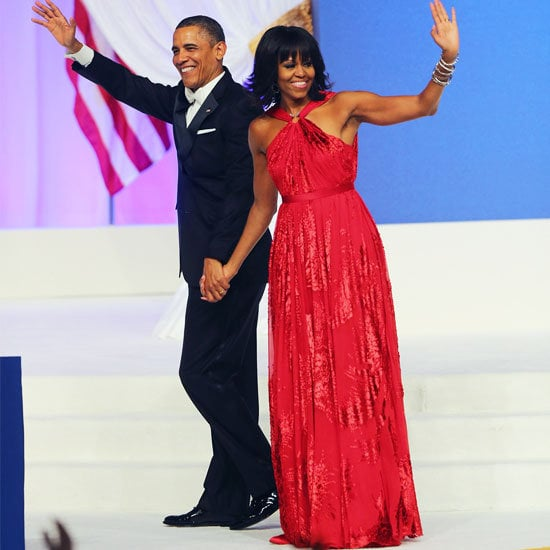 We waited and waited — and we were so excited when Michelle Obama stepped out in her stunning Jason Wu red gown on inauguration night.