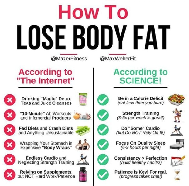 Best Ways To Lose Body Fat