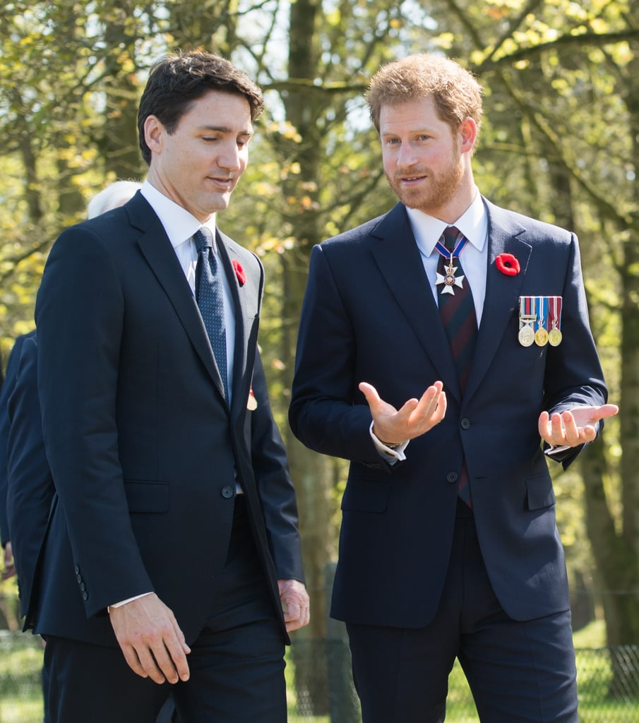 Prince Harry continued to make us jealous of his bromance with Justin Trudeau.
