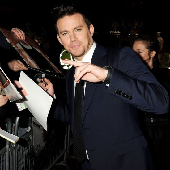 Pictures of Channing Tatum at the London Premiere of The Eagle