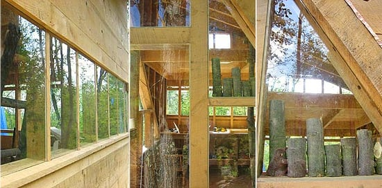 Cool Idea:  Behind the Scenes Treehouse Construction