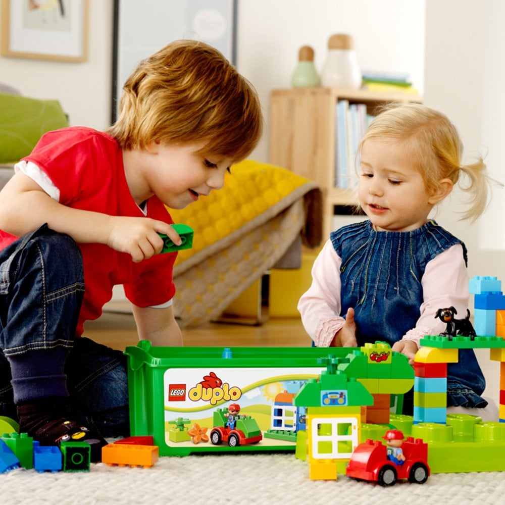 For 3-Year-Olds: LEGO Duplo Creative Play All-in-One-Box-of-Fun