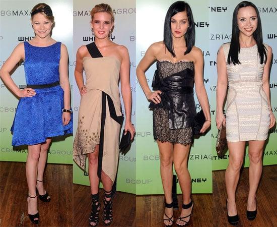 Pictures from Whitney Museum Art Party Including Emilie De Ravin, Leigh Lezark, Maggie Grace, Rachel Zoe, Christina Ricci 2010-06-10 06:30:00