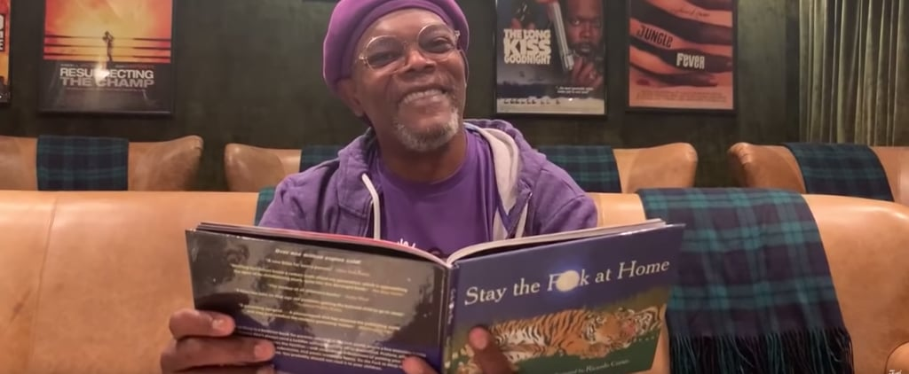 Samuel L. Jackson Reads Stay the Fuck at Home Book