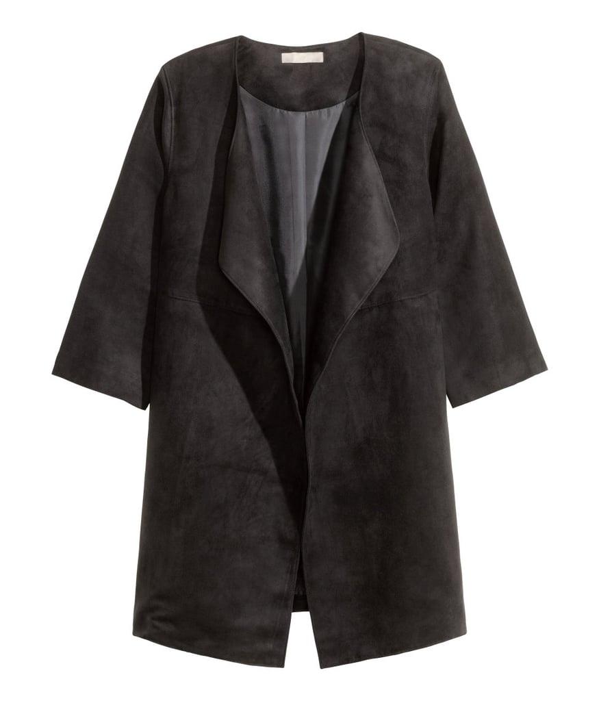 H&M Imitation Suede Coat ($60)