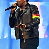JAY-Z Rocked a Custom Loewe Leather Jacket