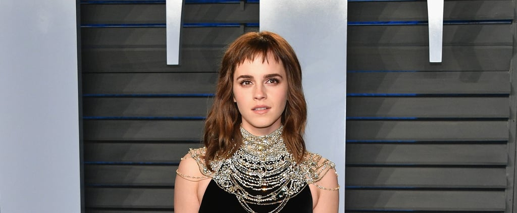 Emma Watson's Baby Bangs and Shaggy Lob Are Polarizing the Internet
