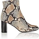 Barneys New York Women's Leather Side-Zip Ankle Boots