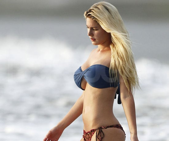 Slide Picture of Heidi Montag in Bikini in Costa Rica