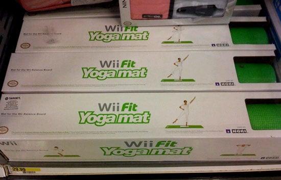 Wii Fit Yoga Mat Found!