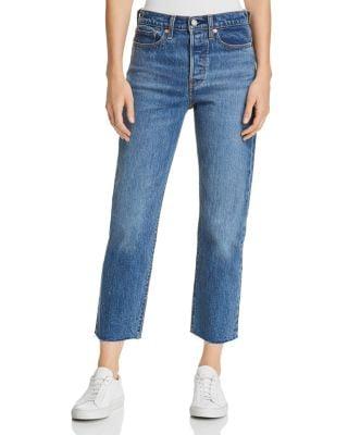 Levi's Crop Straight Jeans