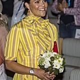 Princess Victoria Wearing Queen Silvia's Dress