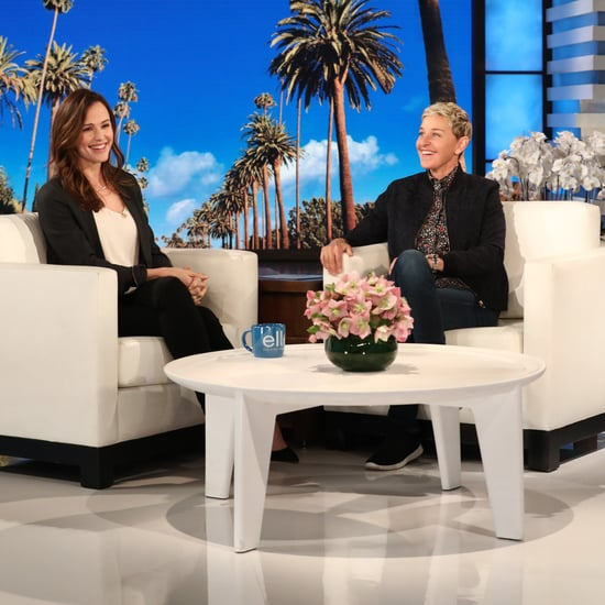 Jennifer Garner Talking About Her Oscars Meme on Ellen Show