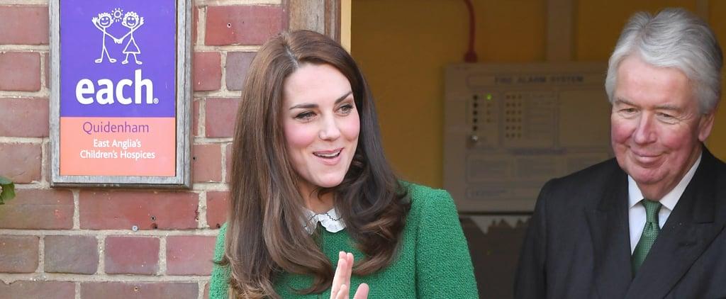 Kate Middleton's Hobbs London Green Suit Jacket Jan. 2017