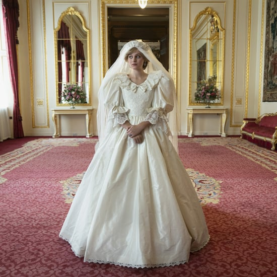 Princess Diana's Wedding Dress in The Crown Season 4 Trailer