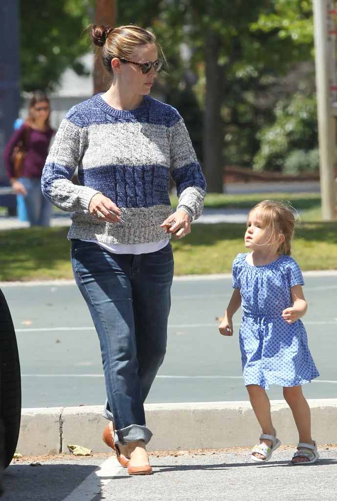 Jennifer Garner Spends a Play Day With Seraphina and Samuel