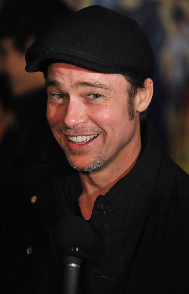 Pictures of Brad Pitt at Megamind Premiere