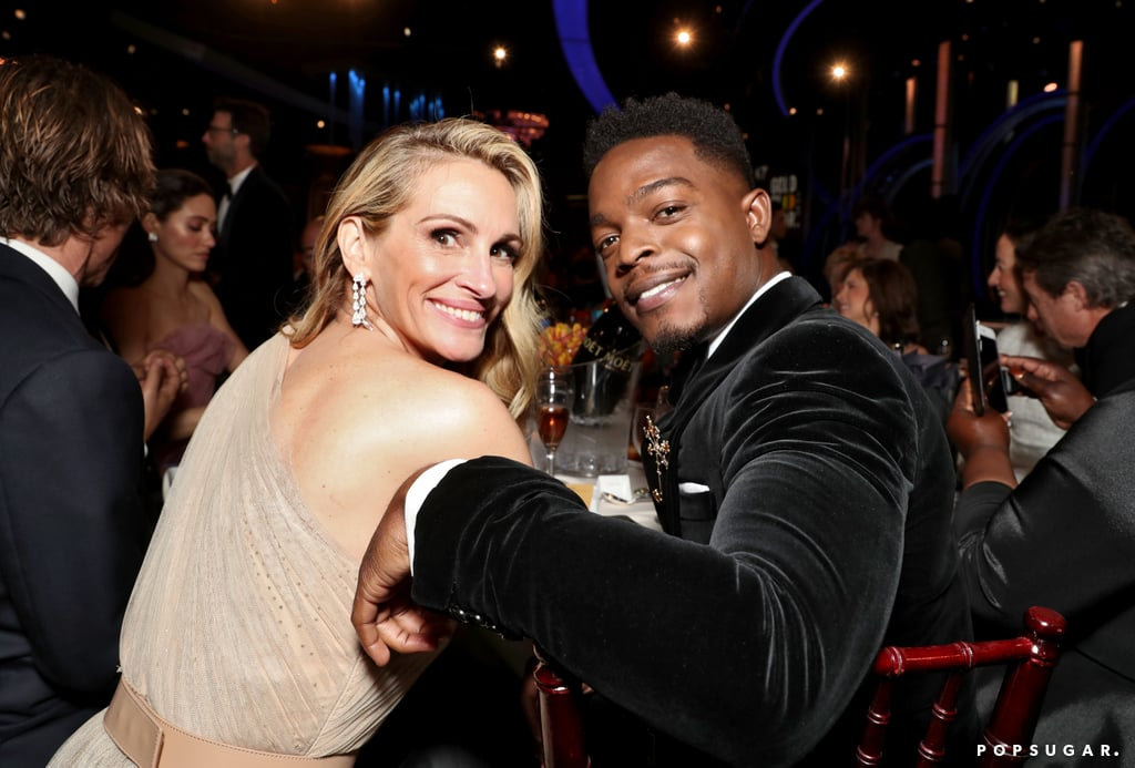 Pictured: Julia Roberts and Stephan James