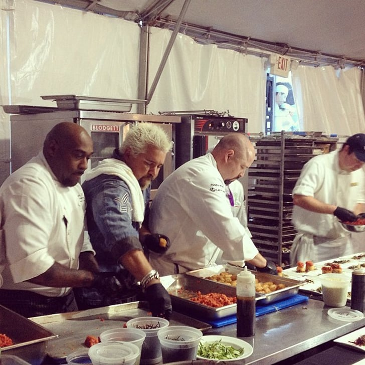 Dinner in the Kitchen With Guy Fieri
