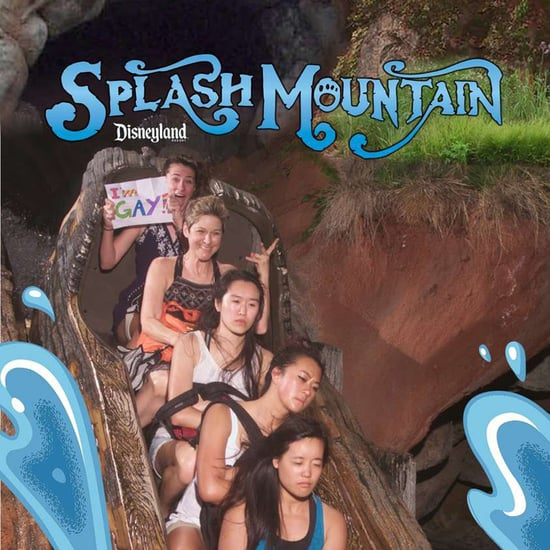 Girl Comes Out to Family on Splash Mountain