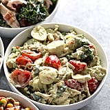Creamy Pesto Chicken Salad