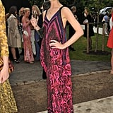 Erin O'Connor in Roberto Cavalli