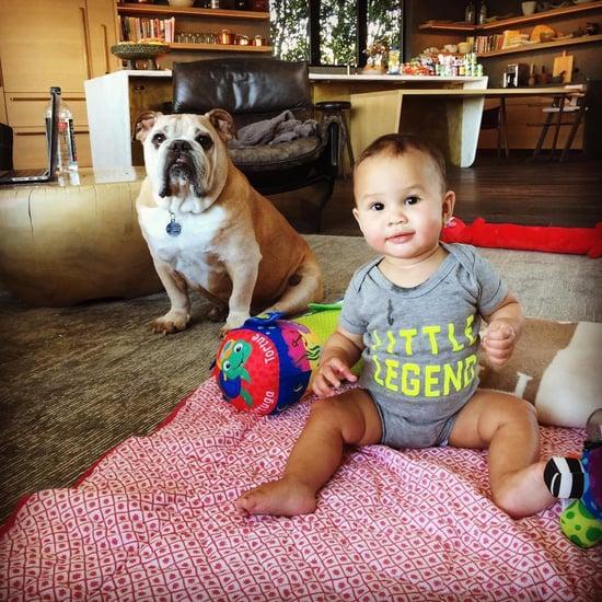 Chrissy Teigen's Instagram Photo of Baby Luna November 2016