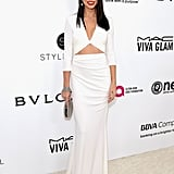 Stop, Drop, and Roll Because Adriana Lima Is Smoking Up the Oscars Party