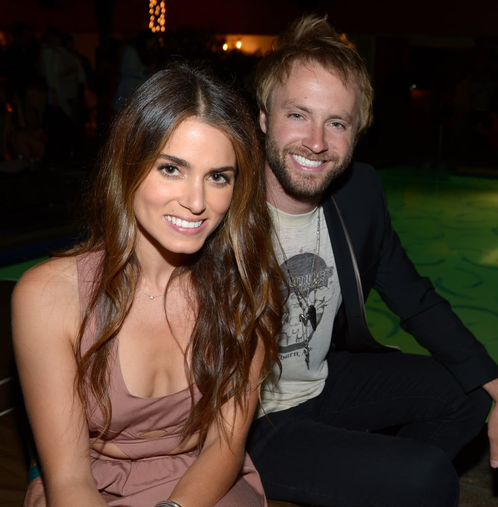 Nikki Reed and her husband Paul McDonald came out for the Nylon party at the Roosevelt Hotel.
