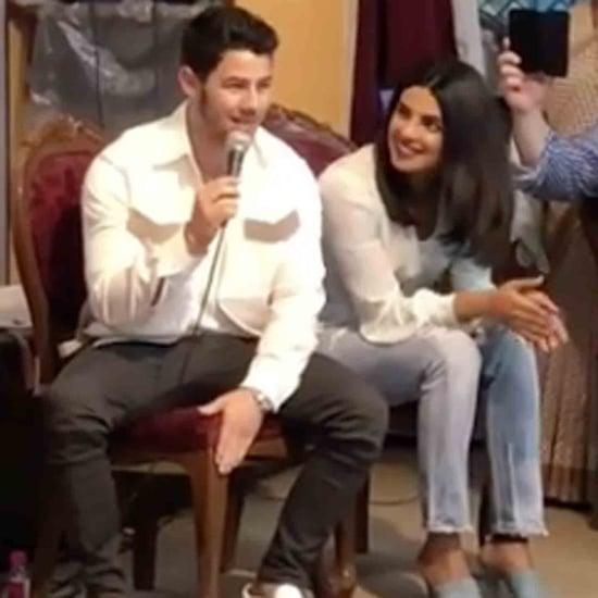 Nick Jonas and Priyanka Chopra Visit an Orphanage in India