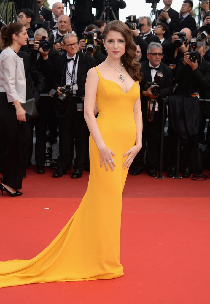 Anna Kendrick wore a brilliant yellow Stella McCartney gown and ...