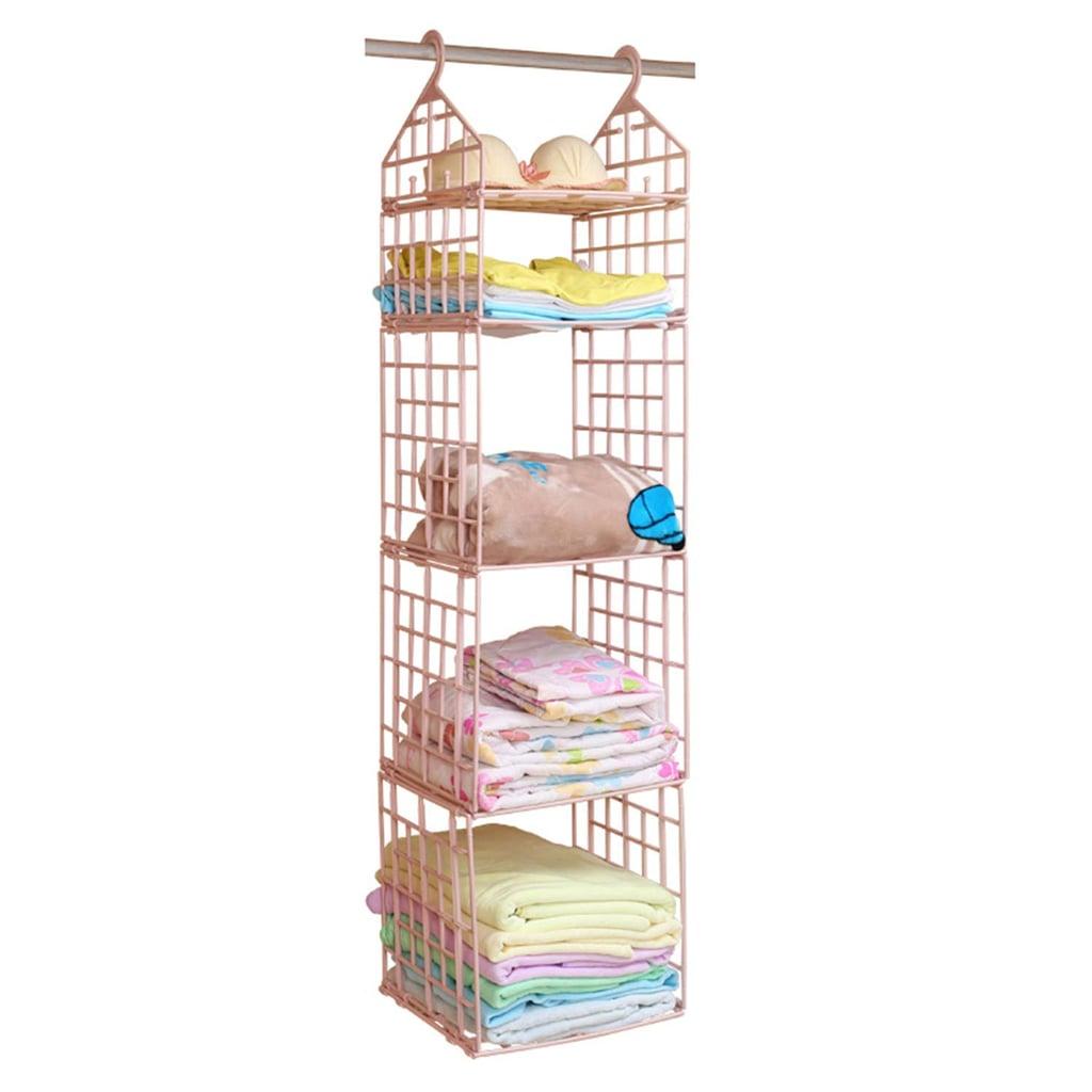 Plastic Hanging Closet Organizer