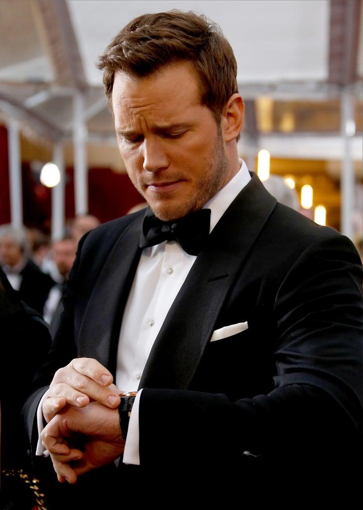 Chris Pratt Looking at...