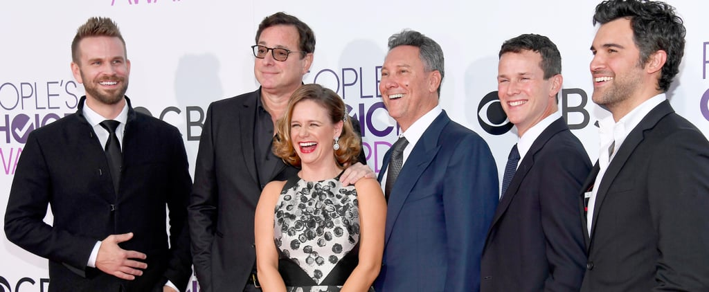 The Cast of Fuller House Shows Off Their Family-Like Bond on the Red Carpet