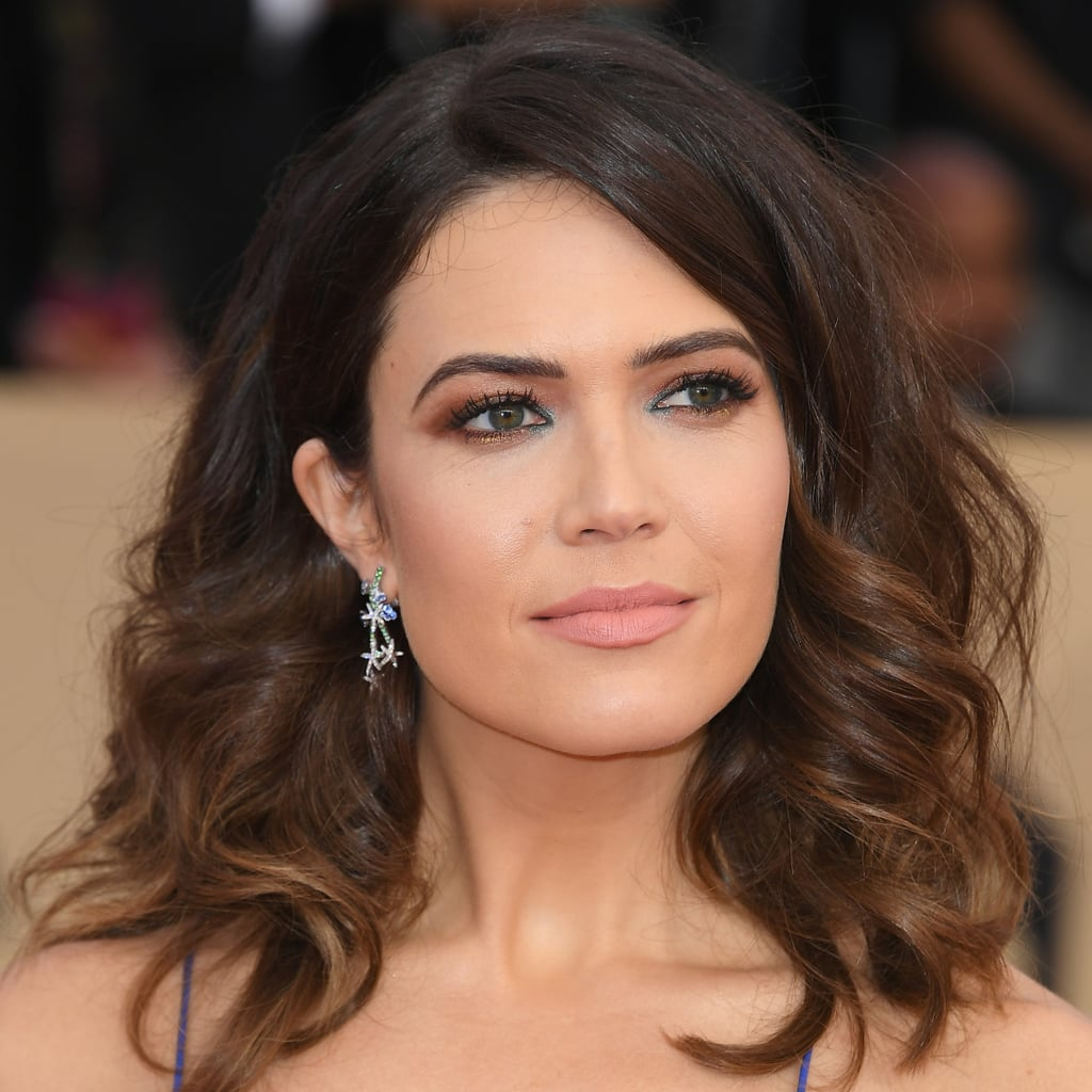 Mandy Moore's Hair and Makeup at SAG Awards 2018