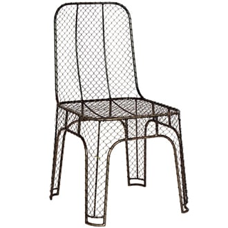 Steel Wire Chair, $348