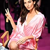 As Did Lily Aldridge