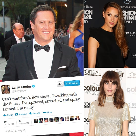 Funny Celebrity Tweets: Larry Emdur, Alexa Chung and More