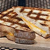 Grill grilled cheese.
