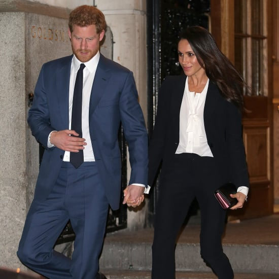 Prince Harry and Meghan Markle See Hamilton in London