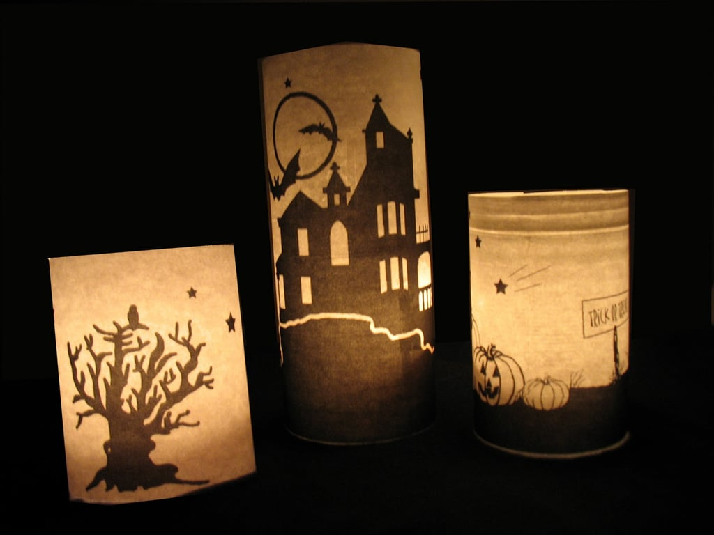 Pottery Barn Inspired Luminaries