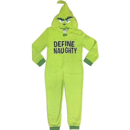 Grinch Onesie Pajamas