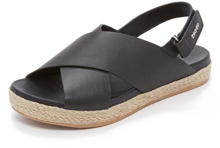 DKNY Bethune Jute Sandals ($165)
