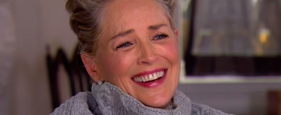 Sharon Stone, Queen, Just Laughed For 10 Seconds Straight When Asked About Her Harassment Experiences