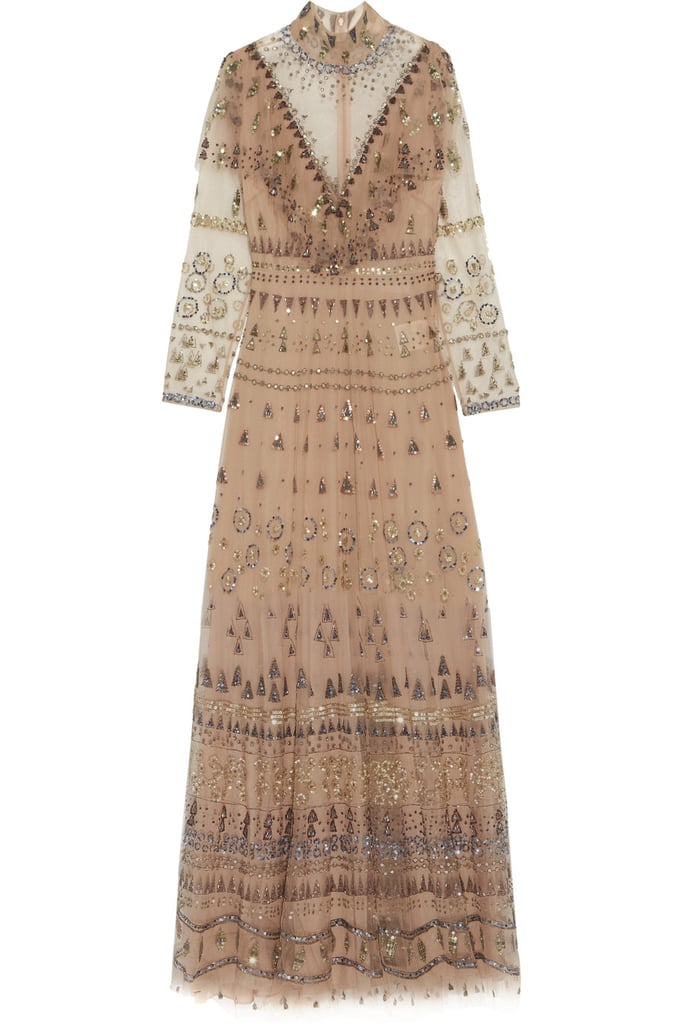 Valentino Ruffled Embellished Tulle Gown (£10,000)
