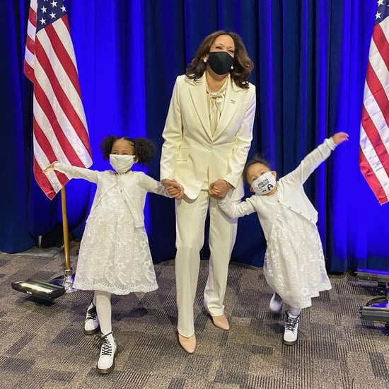 Kamala Harris and Her Nieces Wore All-White For Election Win