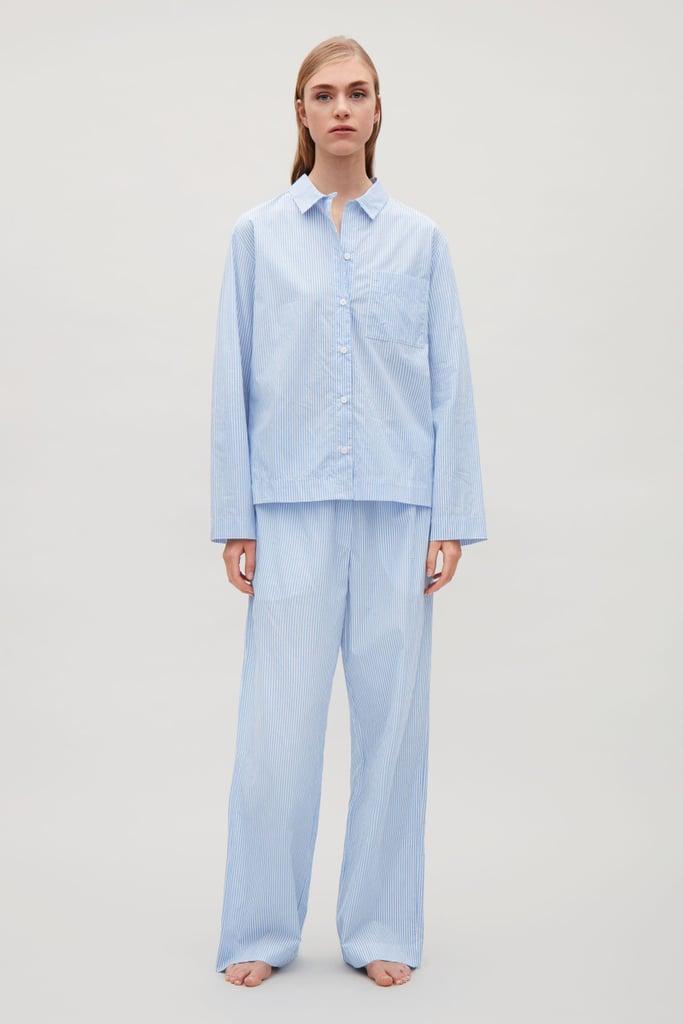 COS Striped Cotton Pyjamas