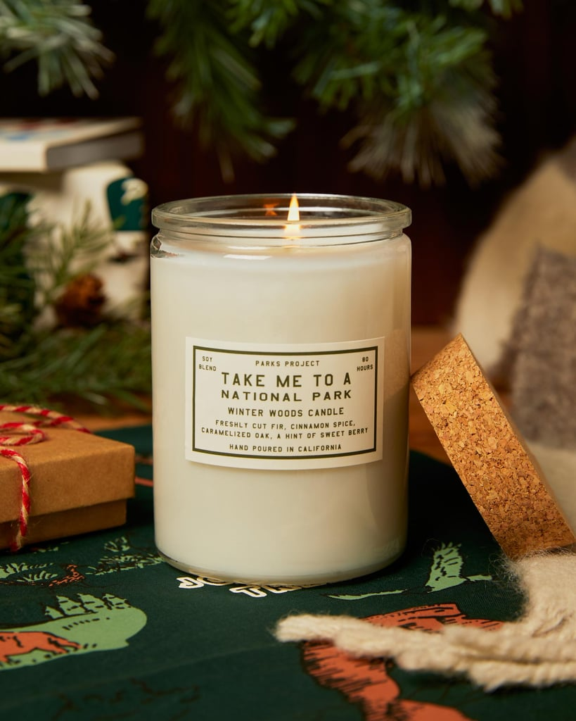 Take Me to the Parks Winter Woods Candle
