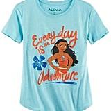 "Disney's Moana ""Everyday Is an Adventure"" Graphic Tee"