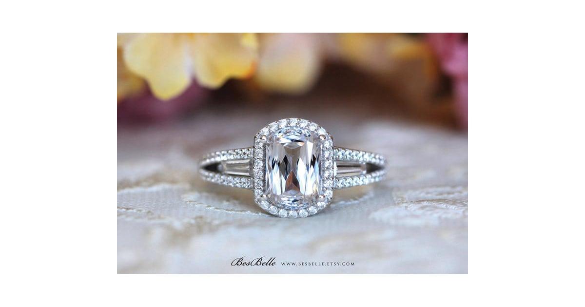 Etsy Engagement Ring Sophie Turner Engagement Ring